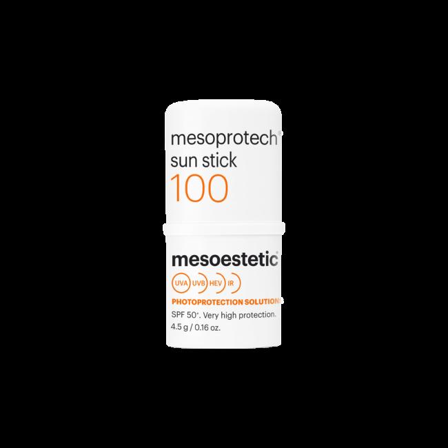 Mesoprotech Sun Protective Repairing Stick SPF 100+  (Protector solar SPF 100+ en barra para zonas sensibles)