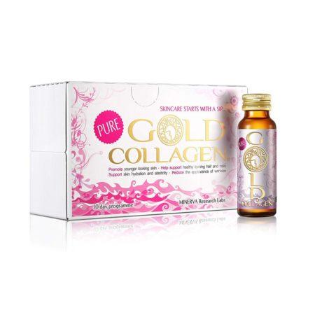 Gold Collagen Pure (Colágeno bebible para piel, cabello y uñas)
