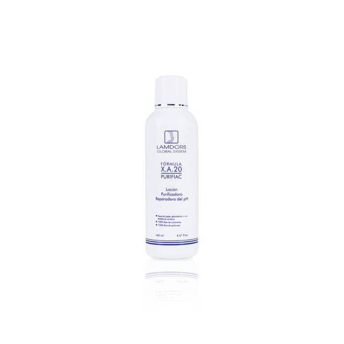 X.A.20 Purifiac (Loción limpiadora para piel grasa y con acné)