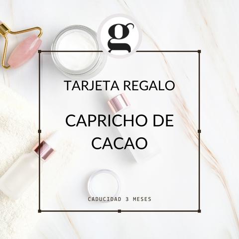 CAPRICHO DE CACAO (spa tractament)