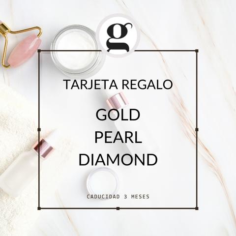 GOLD · PEARL · DIAMOND (Spa tractament)