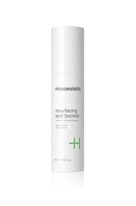 Resurfacing peel booster