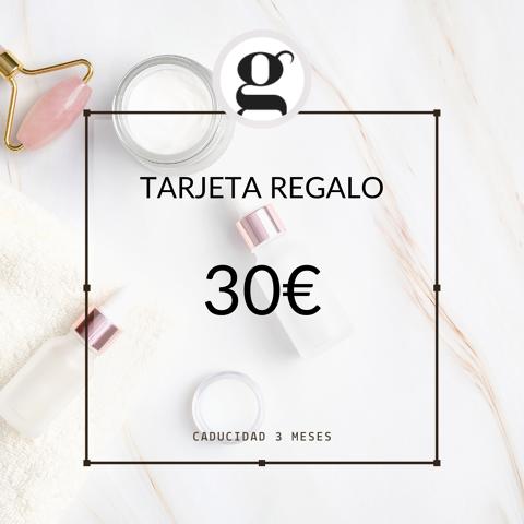 TARJETA REGALO 30€